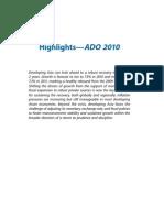 Asian Development Outlook 2010 Highlights