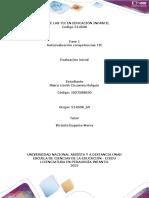 Plantilla de Trabajo Momento Inicial - Fase 1 - Autoevaluación de Competencias TIC