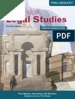 Cambridge Legal Studies Preliminary (2016)