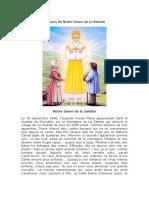 Litanies de Notre Dame de La Salette