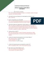 Cuestionario SisPot