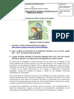 No. 5 TALLER INSPECCIONES DE SEGURIDAD