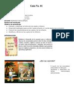 Guía No 15 de Español, 3°