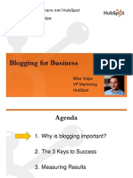 Business Blog Marketing
