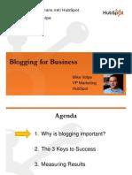 Business Blog Marketing