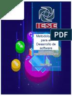 Metodología Desarrollo de sotfware