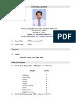 Mr.Ruwantha Medawatta - CV