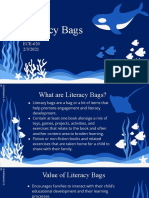 ECE-620 Literacy Bags
