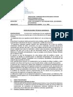 EETT. COMEDOR PROYECTO CONSTRUCCION