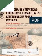 Aprendizajes y Practicas Educativas en Las Actuales Condiciones de Epoca Covid 19