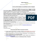 PDF  Formulario Valoración de la Sensibilización Central en España v 1.0.