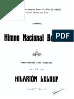 Hino nacional brasileiro Hilarion Leloup
