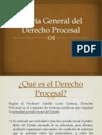 Teoria General Del Derecho Procesal PRIMER PARCIAL