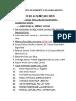 CLUB DE LOS BENDECIDOS TIEMPO DE BENDICION Y GLORIA EDICION NOCTURNA