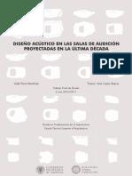 Extracto-Diseño acústico salas audición en la última década