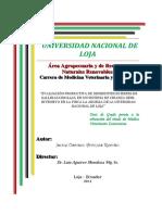 PRODUCTIVIDAD DE DIFERENTES RAZAS DE GALLINAS