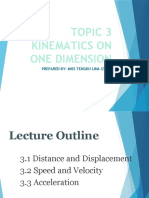 CHAPTER 3  EDIT KINEMATICS IN ONE DIMENSION