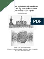Tratado De Las Supersticiones Y Costumbres Entre Los Indios (Parte 1)