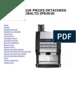Kobalto EspressoZPE 49-50