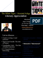 Literary Appreciation of 'The White Tiger'