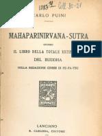 Mahaparinirvana-Sutra