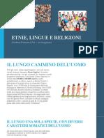 Etnie, Lingue e Religioni