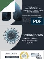 Vigilancia Epidemiológica de La Influenza y Ovr-grupo V