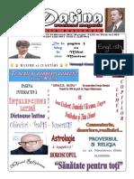 Datina - Ediție Națională - 13-14.02.2021 - Prima Pagina