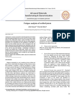Articulo - Analysis of Fatigue of welded joints