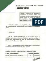 DecretoDeNomeaçãoDosConcursandos