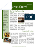Heroes Church Newsletter Issue#1
