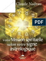 Votre Mission Spirituelle Selon Votre Signe Astrologique - Nadeau Marie-Claude