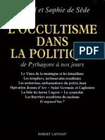 L'Occultisme Dans La Politique - Esoterisme