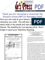 The People's Press December 2007