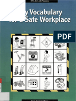 english Vocabulary for a safe workplace