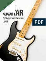 RSL Guitar Syllabus Guide 2018 05May2020