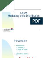 Cours Marketing de La Distribution