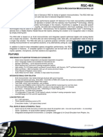 Product Brief - RSC-464