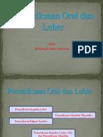 Pemeriksaan Oral dan Leher-Akbarsyah Ridar Aditama-I1A010062