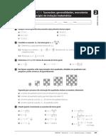 Ficha de Trabalho 06 - 11 Ano - Sucessoes e Principio de Inducao Matematica
