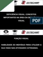 Conceitos principais da área de Deficiência Visual