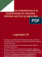 Aditivi-legislatie