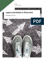 Broschüre Jugend und Arbeit in Österreich 2019/2020