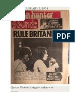"Queen Interview 01-05-1974 ""Sounds"""