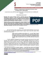 Confinamento e Cuidado - A Suspensão No Mundo Da Técnica Como Condição Para a Liberdade (Voluntas, 3.7.20)