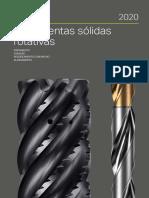 Catálogo sobre ferramentas de usinagem