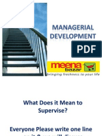 Managerial Development
