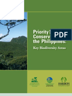 Priority Sites for Conservation in the Philippines
