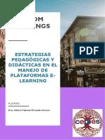 ESTRATEGIAS PEDAGÓGICAS Y DIDÁCTICAS EN EL MANEJO DE PLATAFORMAS E Dra. Alheni Miranda