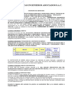CONTRATO AGREGADOS Y PIEDRA CHANCADA